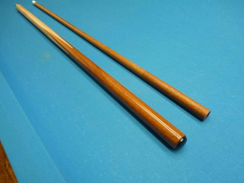 My first break cue using a Goncalo Alves shaft